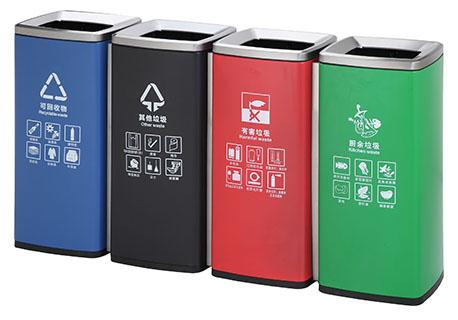 金道家居—分类垃圾箱的垃圾分类的理念
