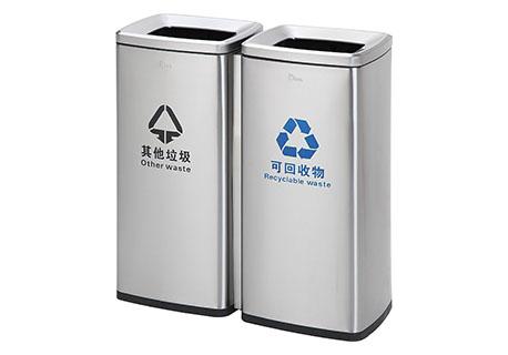 智丽纳—不锈钢垃圾桶属于环保垃圾桶吗?